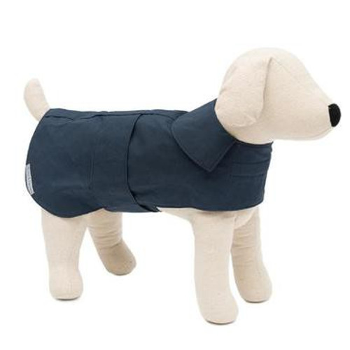 Mutts & Hounds Wax Coat Navy