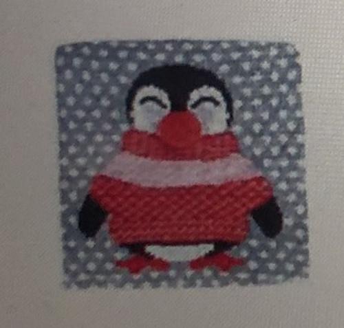 Penguin Christmas Jumper Medium