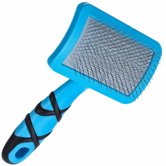 Curved Soft Slicker Brush