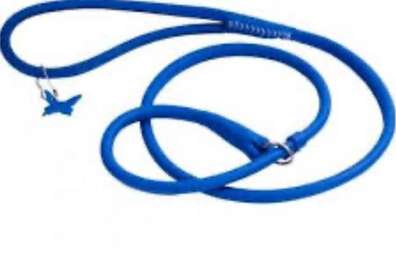 Leather Lead-Halter Blue