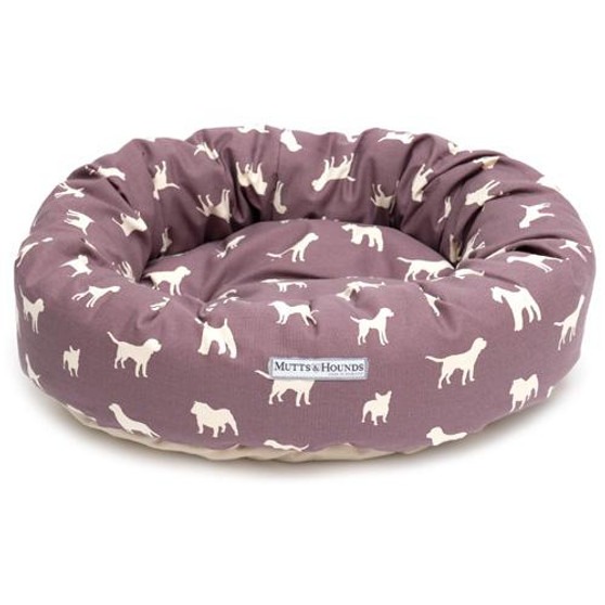 Mutts & Hounds Plum Donut Bed