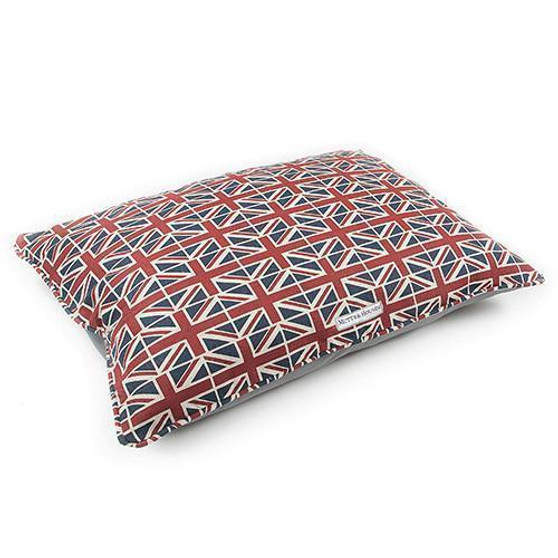 Mutts & Hounds Union Jack Pillow Bed