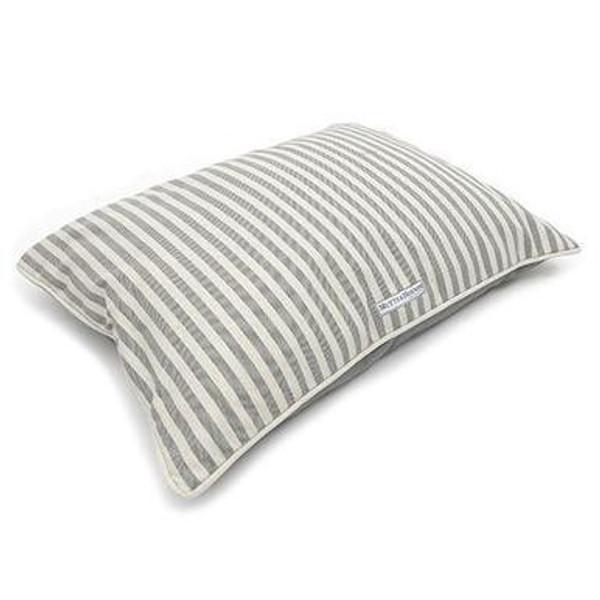 Mutts & Hounds Flint Stripe Pillow Bed Medium
