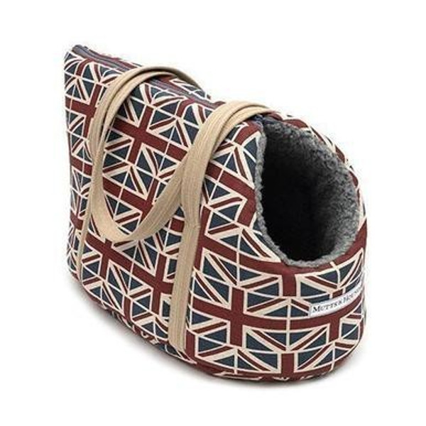 Mutts & Hounds Union Jack Carrier Small