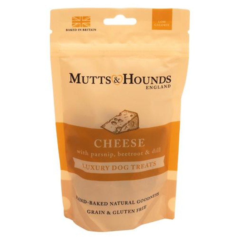 Mutts & Hounds Cheese, Parsnip, Beetroot & Dill Dog Treats