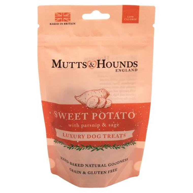 Mutts & Hounds Sweet Potato, Parsnip & Sage Dog Treats