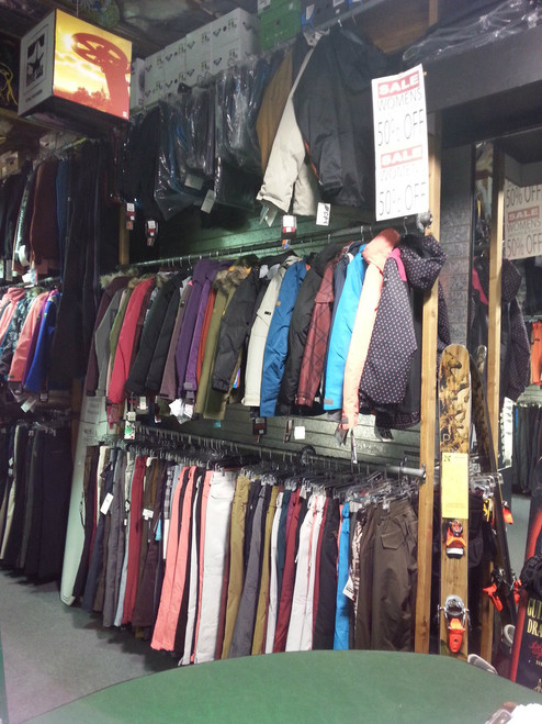 END OF SEASON SALE - 50% OFF ALL Jackets and Pants INSTORE ONLY  - Womens