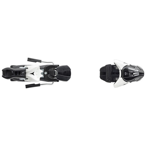 Atomic  Z12 (75mm Brake) Ski Binding  2020 - White/Black - Din 4 to 12