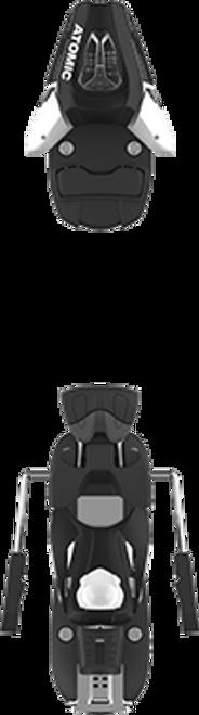 Atomic C 5 (75mm Brake) Ski Binding  2020 - White/Black - Din .5 to 5