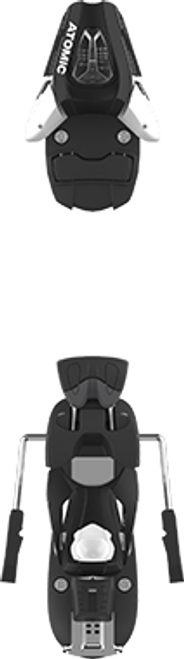 Atomic C 5 (85mm Brake) Ski Binding  2020 - White/Black - Din .5 to 5