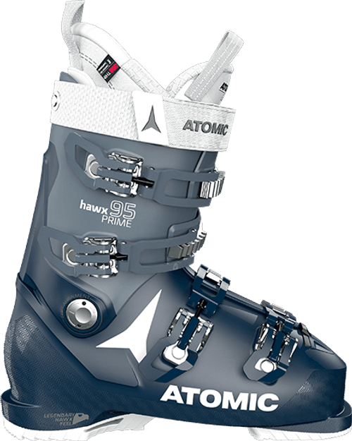 Atomic Hawx Prime 95 W Ski Boot 2021 - Dark Blue - 25/25.5 Womens 8/8.5