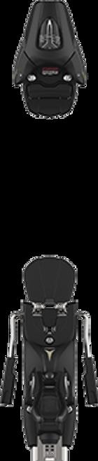 Atomic  Colt 7 (75mm Brake) Ski Binding  2021 - Black - Din 2 to 7.5