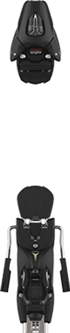 Atomic  Colt 7 (75mm Brake) Ski Binding  2022 - Black - Din 2 to 7.5
