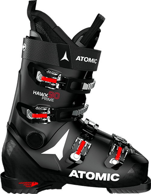 Atomic Hawx Prime 90 Ski Boot 2021 - Black - 28/28.5 Mens 10/10.5