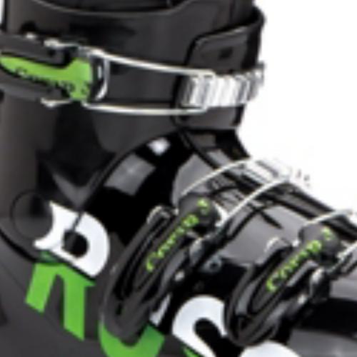Rossignol Comp J3 Kids Ski Boot - Black - 22.5