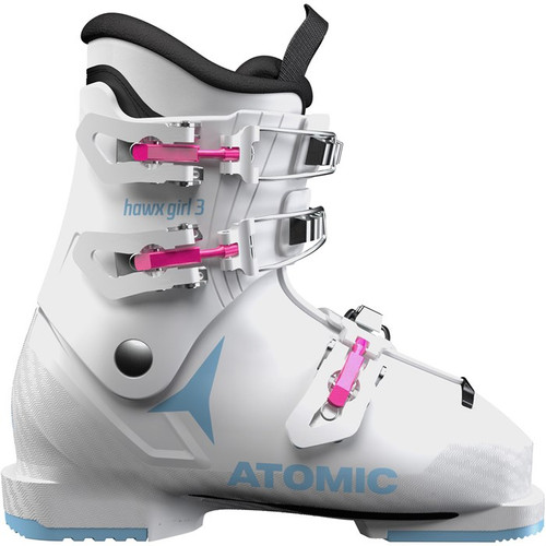 Atomic Hawx Girl 3 Jr Ski Boot 2021 - White - 21/21.5