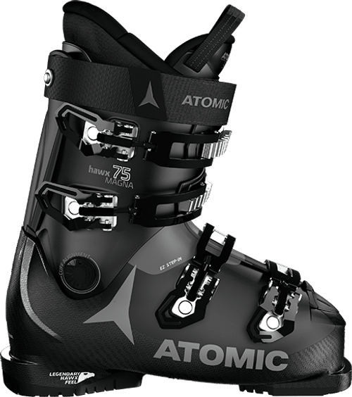 Atomic Hawx Magna 75 W Ski Boot 2021 - Black/Light Grey - 23/23.5 Womens 6/6.5