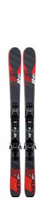 K2 Indy Kids Skis with FDT Jr 4.5 Bindings 2020 - 124 cm