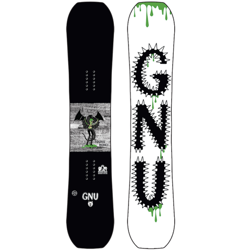 GNU Young Money C2E Youth Snowboard 2022 - 140 cm