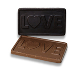 Lucky Leo's Dark Chocolate Love Bars