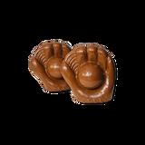 Chocolate Baseball Mitt
