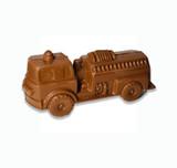 Belgian Chocolate Fire Truck