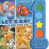 Disney Classics Lion King, Dumbo, and More! - Let's Go! Walk, Run, Swim, Fly Sound Book - PI Kids