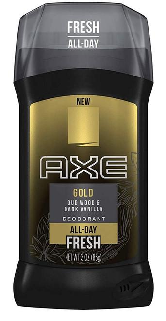 Axe Fresh All Day Gold Oud Wood & Dark Vanilla Deodorant Stick 3 oz