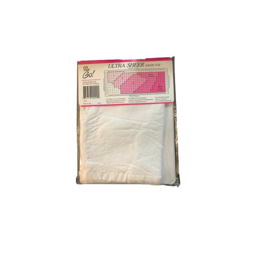 On The Go! Ultra Sheer Queen White (Pack of 4)