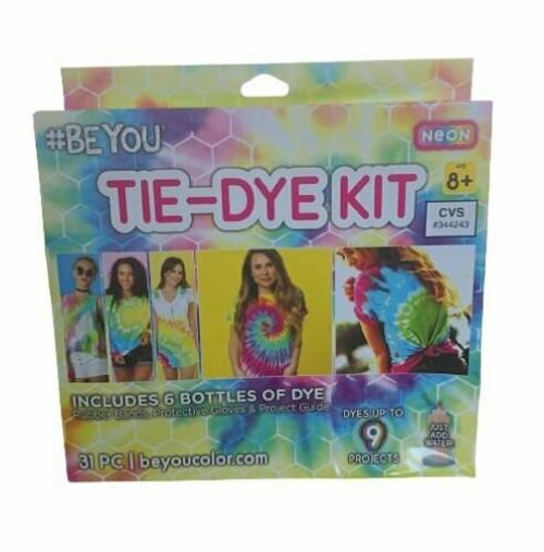 BE YOU Neon Tie-Dye Kit