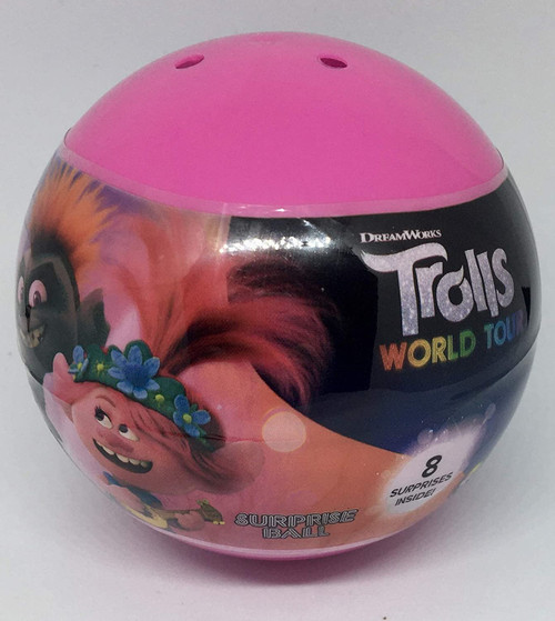 HRE Surprise Ball for Kids 8 Surprises in Each Ball! (Trolls)