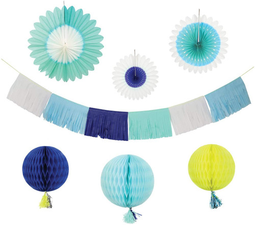Meri Meri Blue Decorating Kit
