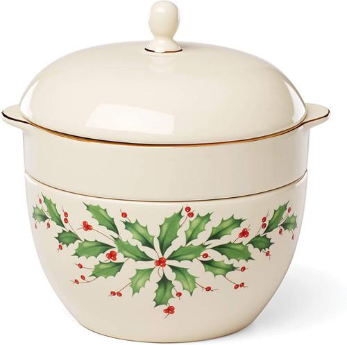 "Lenox Holiday Stackable Bowl Set, 5.75"", Multi"