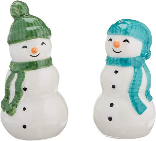 Lenox Balsam Lane 2-Piece Snowman Salt & Pepper Set