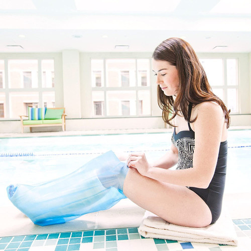 Seal Tight Sport Cast and Bandage Protector, Best Watertight Protection for Swimming, Adult Long Arm