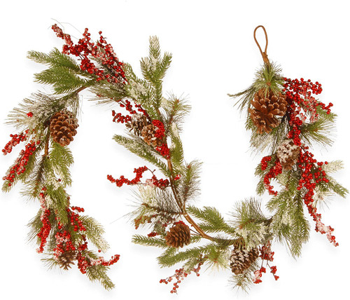 National Tree 72 Inch Berry and Cones Garland (RAC-G060746A)