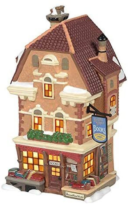 Department 56 Dickens Village Russell Street Books Building 6005396 New
