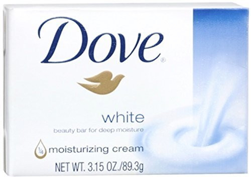 White Moisturizing Cream Beauty Bar for Unisex By Dove, 3.15 Ounce (Pack of 7)