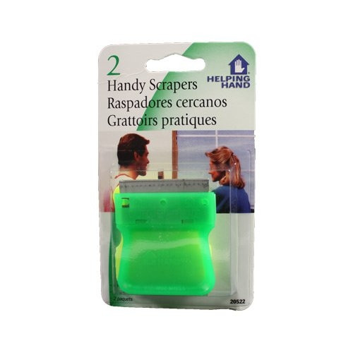 Help Hand H H Handy Scrapers 2 count (Pack Of 3)