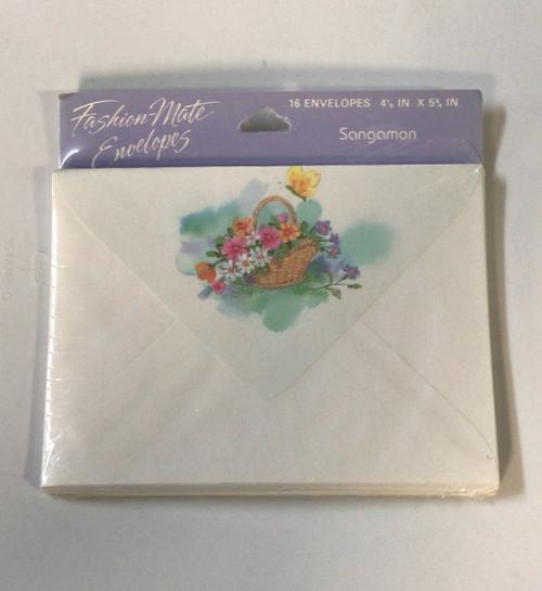 "Fashion Mate Envelopes 4 1/8"" x 5 3/4"" , 16ct"