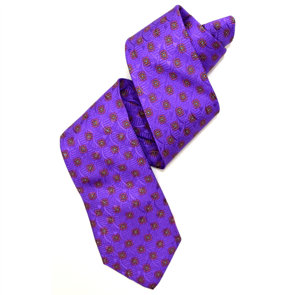 Robert Talbott Lavender Medallion Best of Class Tie