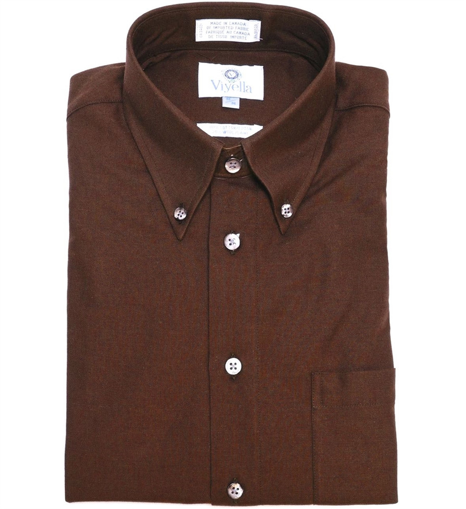 Burgundy Button-Down Shirt by Viyella