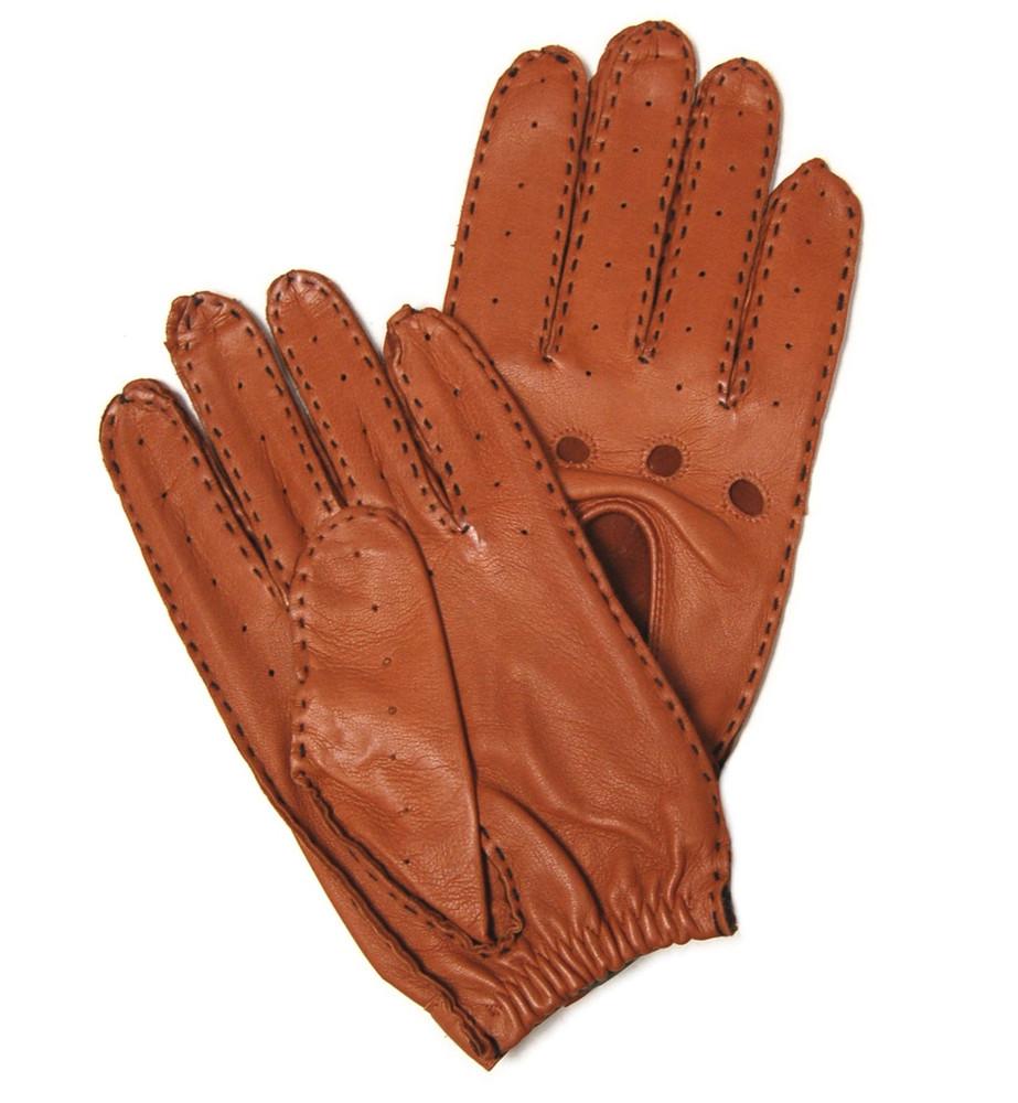 'Theodore' Lambskin Driving Glove by Hilts-Willard