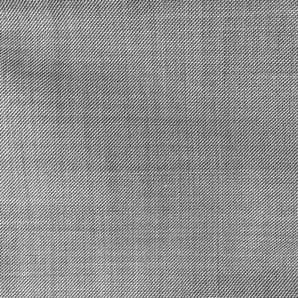 'Todd' Flat Front Wool Sharkskin in Light Grey by Zanella