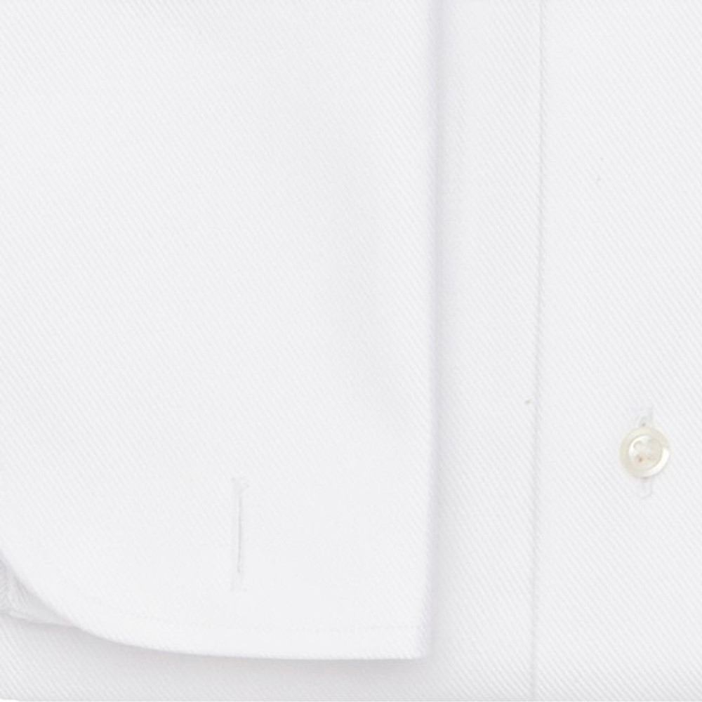 The White Royal Twill Tuxedo Dress Shirt by Ledbury