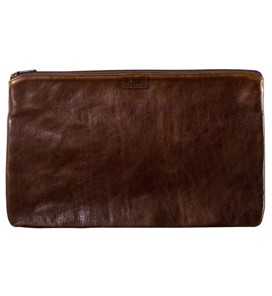 Arnold Portfolio in Titan Milled Brown by Moore & Giles