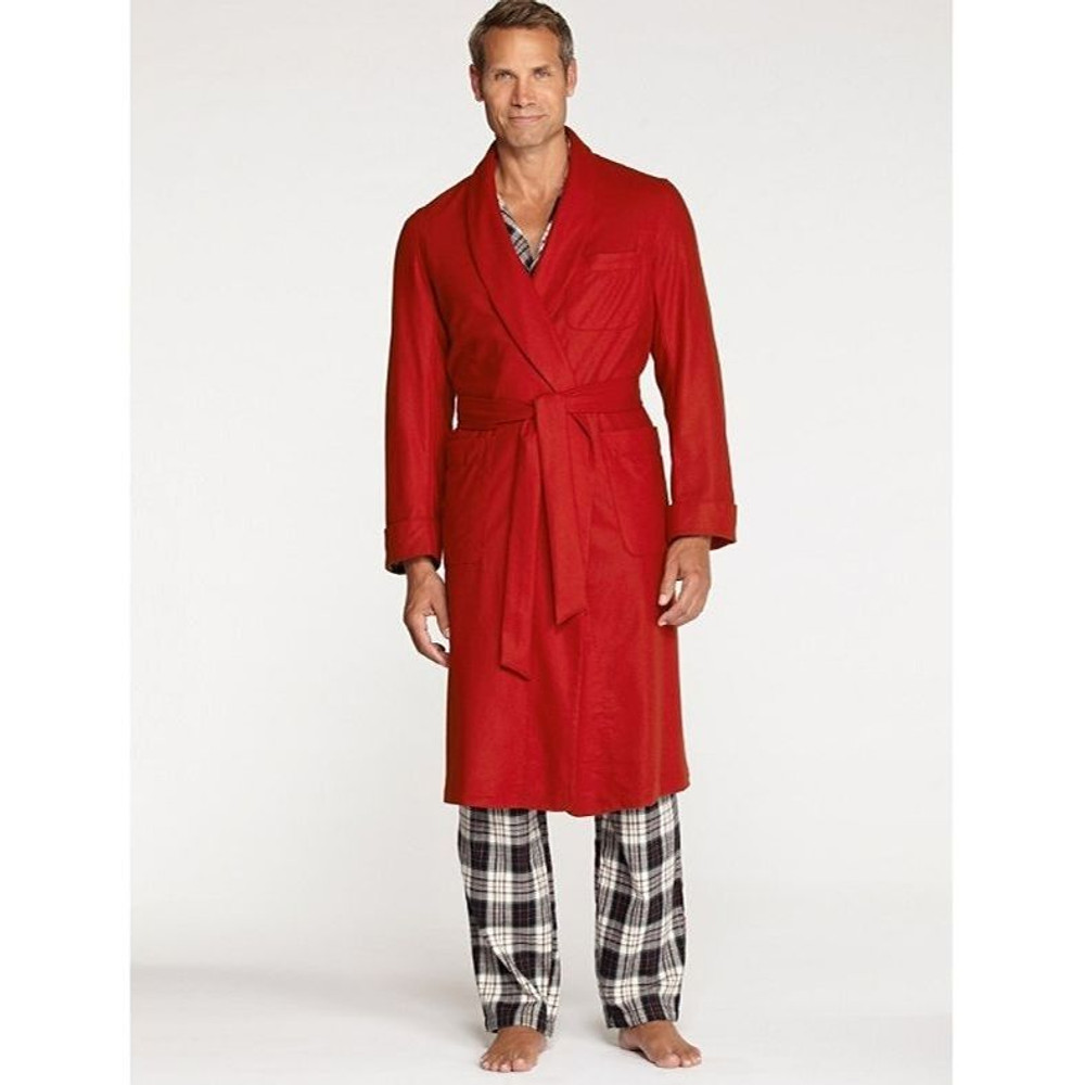 Washable Whisperwool Robe in Red by Pendleton