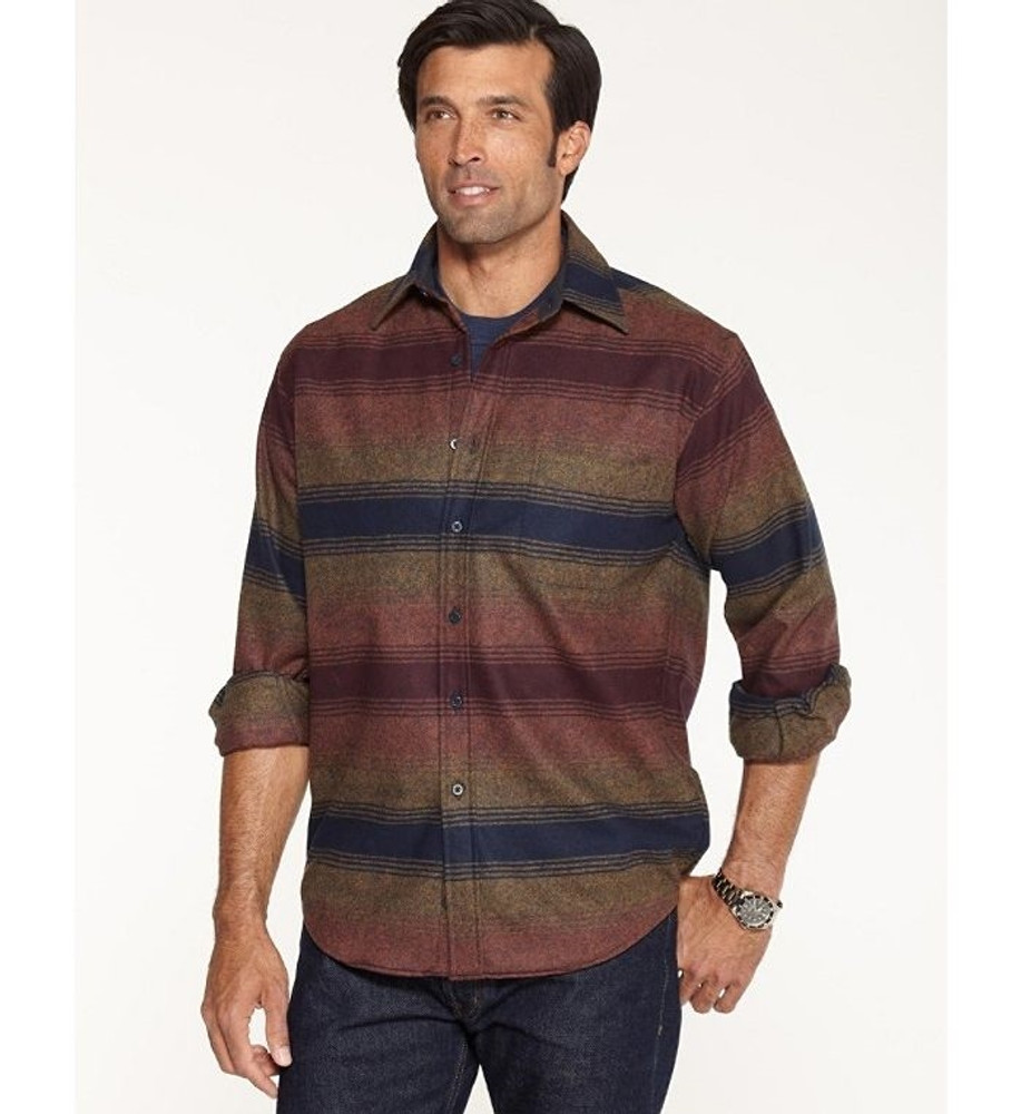 Grand Canyon Stripe Lodge Shirt (Size XX-Large) by Pendleton