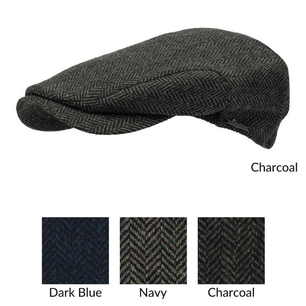Ivy Contemporary Herringbone Cap in Choice of Colors by Wigens