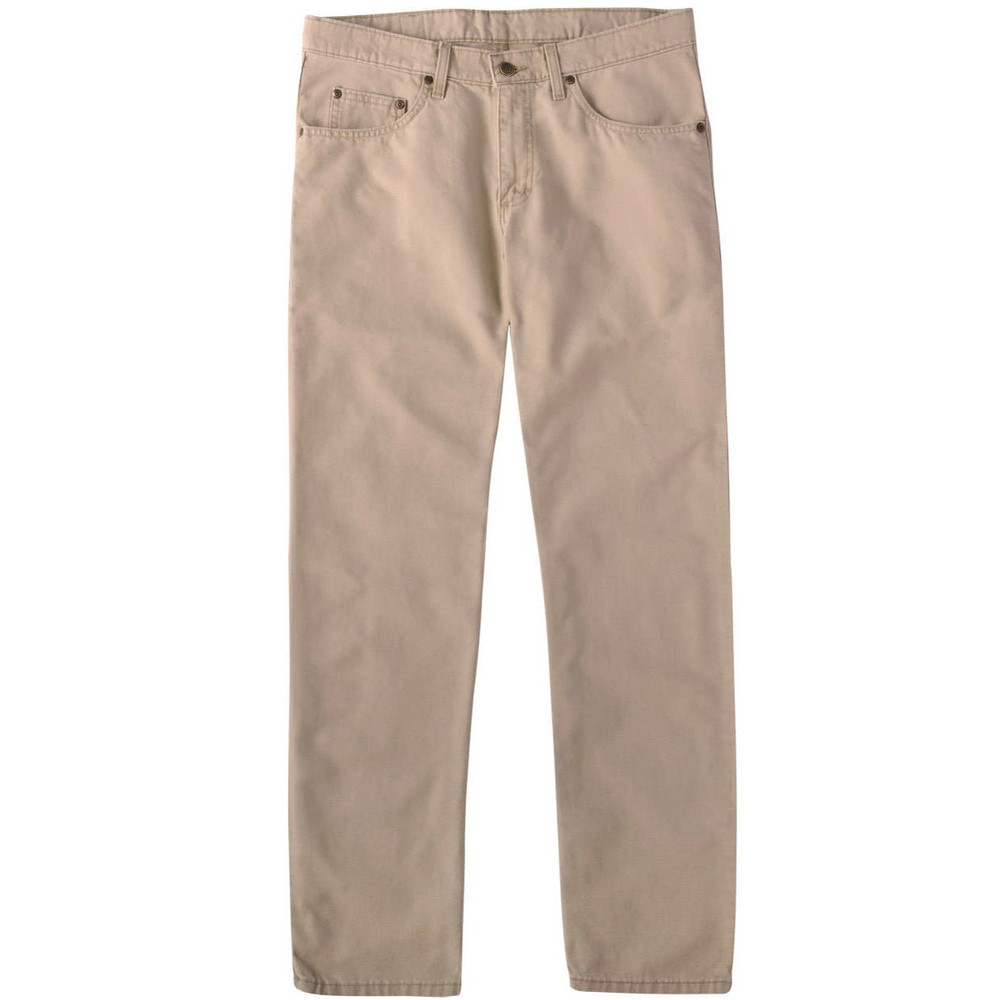 Weathered Canvas Five Pocket Model in Khaki by Bills Khakis